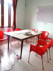 Meeting room at DLS