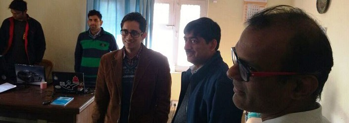 Himachal IT Secretary visits our office at Dharamshala