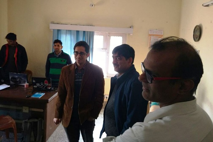 Mr Sanjeev Gupta with Varun and Krishnan