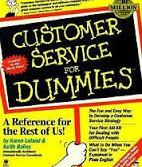 customer service for Dummies